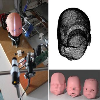 Pruebas de escaneo en 3D