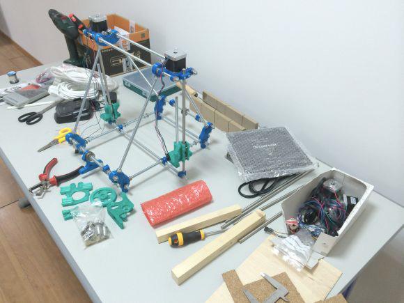 piezas-del-montaje-de la impresora prusa